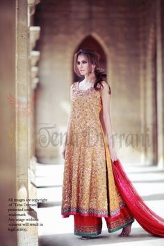Tena Durrani Bridal Wear 2012 Collection for Girls-