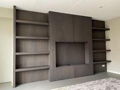 Eiken fineer gebeitst Bookcase, Shelves, Home Decor, Shelving, Decoration Home, Room Decor, Book Shelves, Shelving Units, Home Interior Design