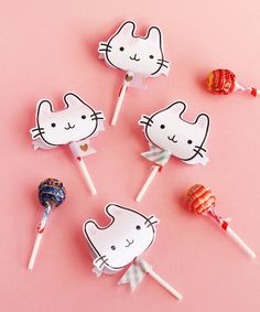 Bunny Lollipop Covers for A Subtle Revelry by Design is Yay
