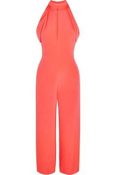 Cushnie et Ochs - Lauren Cutout Silk Jumpsuit - Pink - US12