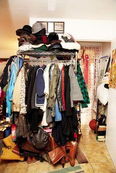 Your closet keeps growing!   guardianselfstorage.com