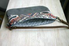 Aztec bag Aztec print Tribal print Small handbag Clutch