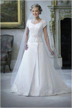 Eternity 8906 Modest Temple Ready Wedding Dress On Sale $334 Size 10 #tourofelegancebridal
