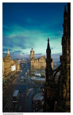 Edinburgh, Scotland.....I was there the day the Queen released Scottland from the rule of England
