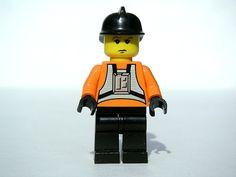 Guy Montag de Lego.
