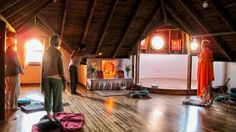 San Francisco Temple (Morning Meditation) Photo by Sister Gayatri Copyright San Francisco Integral Yoga Institute