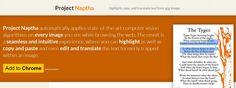 Project Naptha, una extensión que nos permite copiar el texto que hay dentro de imágenes