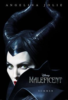 MALEFICENT Advance 27x40 2-Sided Movie Theater Poster ANGELINA JOLIE