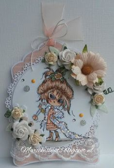 Don en Daisy Inspiration Cards, Colour Inspiration, Marianne Design Cards, Labels, Winter Fairy, Daisy, Decorative Plates, Color, Margarita Flower