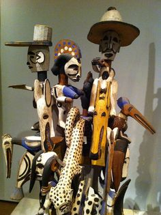 Complex sculpture, Igbo people, Nigeria, from the British Museum by Cecca W, via Flickr