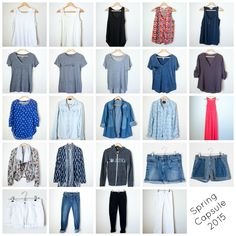 How to find your style and create a capsule wardrobe (without spending a ton of money) | InspiredRD.com
