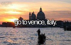 Aller à Venise, Italie