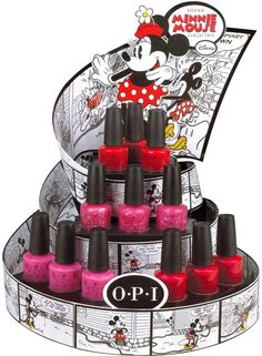 Vintage Minnie Mouse OPI, roll on the summer - can't wait!
