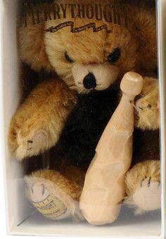 Merrythought Micro Cheeky Bear - Little Caveman