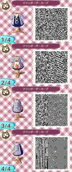 My character looks so cute in this! It's perfect for when I go to the island! #animalcrossingnewleafqrcode