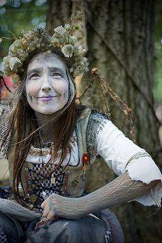 Bristol Renaissance Faire 2012 Weekend 6 Saturday. Spider Fairy - Grandmother Cobweb.