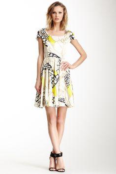 One Dress A Day Montego Silk Butterfly Dress