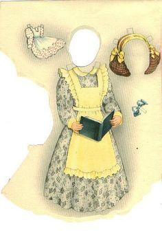"""Jane"" by Helen Page   Gabi's Paper Dolls"