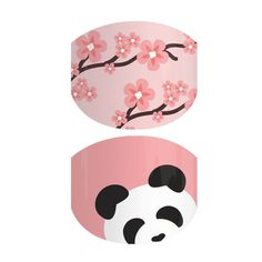 Pandamonium | Nothing says cute like a baby panda and rosy pink cherry blossoms! These juniors are the cutest lil' thing for the cutest lil' hands.