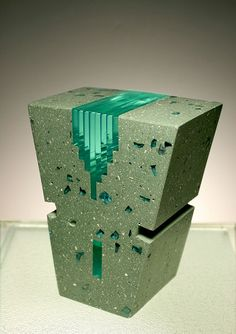 Concrete Sculpture Artist - Michael Eddy - http://stormeddy.com #glass
