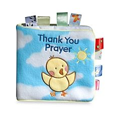 image of My First Taggies Book Thank You Prayer Soft Book