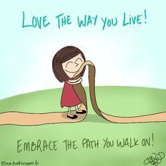 Palasia sateenkaaresta: Love The Way You Live
