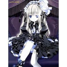 polyvore anime girl | Like it to save to your profile
