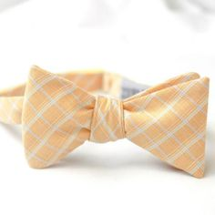 Bow Ties for Your Groom: Preppy Plaid, Stylish Stripes | OneWed
