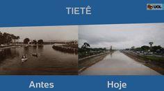 A cidade de São Paulo retificou, canalizou e tampou seus rios. Imagens antigas e atuais mostram como a paisagem foi transformada no entorno de alguns deles. Cidade de São Paulo tem mais de 200 rios; quantos você vê?