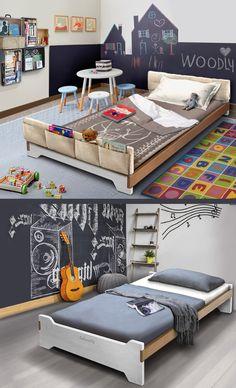 Letti Ecologici Per Bambini.13 Best Letti Montessoriani Grandi Di Woodly Images In 2020 Bed