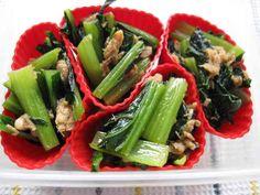 弁当に☆冷凍OK!小松菜とツナの炒め煮の画像