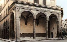 Loggia Rucellai, Leon Battista Alberti