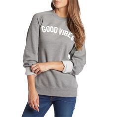 Don't let them harsh your mellow with the Sub_Urban Riot Good Vibes Sweatshirt. Featuring a lightweight tri blend fleece construction, and loose fit unisex sizing this is a crew neck you could easily learn to live in and with good reason. When you send out the good vibes, they come right back to you.