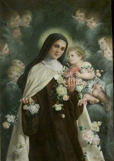 """""""Veo que todo es vanidad y aflicción de espíritu bajo el sol, y que el único bien que vale la pena es amar a Dios con todo el corazón y ser pobres de espíritu aquí en la tierra"""". Santa Teresa de Lisieux."""