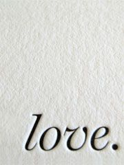 lovely letterpress of love. I love that sentence. Lettering, Typography, Quotes To Live By, Me Quotes, All You Need Is Love, My Love, Le Pedi A Dios, Encouragement, Love Letters