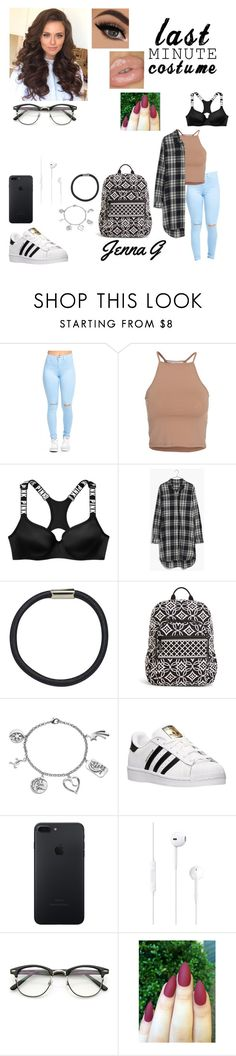"""""""32th doy of school...♡"""" by iamjennagarcia on Polyvore featuring NLY Trend, Madewell, Hershesons, Vera Bradley, Love This Life, adidas and ZeroUV"""