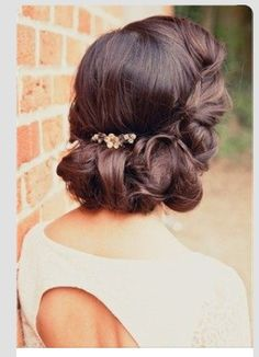 I will learn how to do this! Possibly brides made hairdos for aunties wedding x