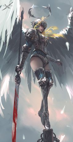 Character in my indie comic GhostBlade, angel Princess Sarlia! Support me on creating my indie comic Ghostblade: www.patreon.com/wlop As rewards, you will get: > full ...