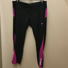 Nike capri dri fit leggings NWT open to reasonable offers, no trades Nike Pants Ankle & Cropped