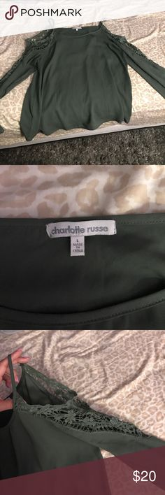 charlotte russe blouse never worn no tags. Negotiable make offers!! Charlotte Russe Tops Blouses