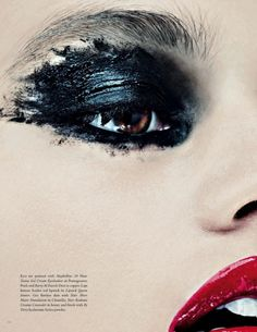 Makeup Artist Sarah Jagger for Lone Wolf Magazine