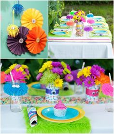 DIY Little monsters party ideas - great for a Fall birthday or Halloween party!