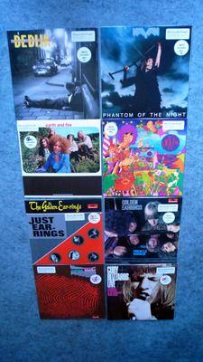Dutch Vinyl Masters: 8 Highlights from the Dutch Pop & Rock-history on limited 180 grams coloured vinyl. Incl. Earth & Fire / Cuby & The Blizzards / Kayak / Golden Earring(s) / De Dijk / Boudewijn de Groot / Alquin  1 EURO AUCTION ! ! !
