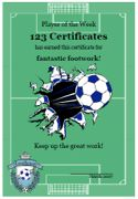 Free printable soccer certificates soccer awards soccer free printable soccer certificates soccer awards soccer certificate templates player of the game yadclub Image collections