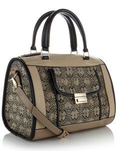 Woven Barrel Bag | Multi | Accessorize