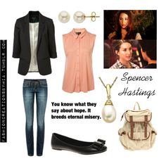 pll spencer inspired! casual business