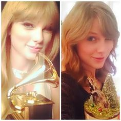 Taylor's first and last selfie of 2013 <3