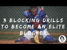 Here's 3 baseball catcher blocking drills that will really help you become an elite level blocker! Blocking is a skill we need to polish just like throwing o. Baseball Tips, Better Baseball, Sports Baseball, Baseball Mom, Baseball Shirts, Sports Mom, Nfl Sports, Baseball Couples, Baseball Boyfriend