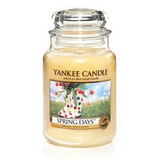 Spring Days Like a bouquet of sunshine after a spring rain. . .a lovely blend of lavender, jasmine and rose.