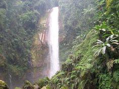 Air terjun Curug Seribu - Waterfall at Gunung Bunder, Kawasan Gunung Salak, Kab. Bogor